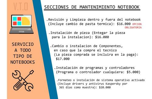 servicio técnico a computadoras, notebooks, e impresoras