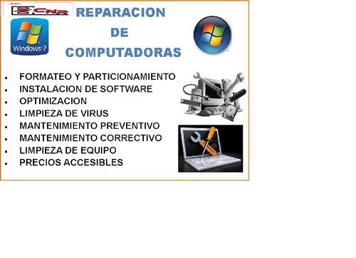 servicio tecnico a laptop y cpu ,rebaling 02812685342