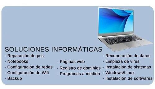 servicio técnico a pc, servidores, redes, seguridad y mas