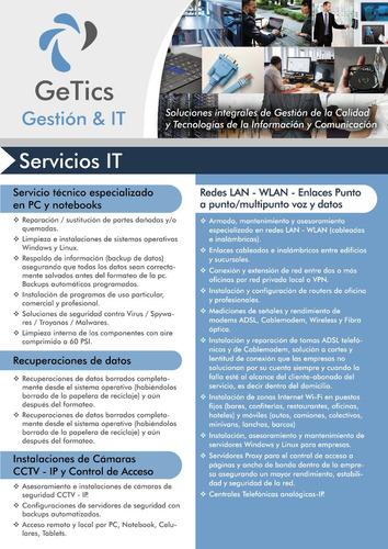 servicio tecnico abonos y mantenimiento de pc a empresas