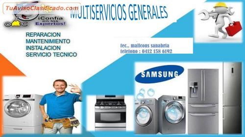 servicio tecnico aire,neveras,lavadoras,secadoras
