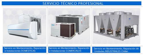 servicio tecnico aires acondicionados y refrigeracion