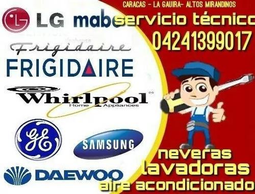 servicio técnico amana whirlpool frigidaire neveras lavadora