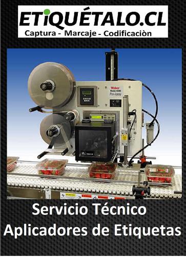 servicio tecnico aplicadores de etiquetas