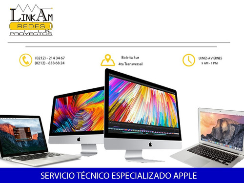 servicio tecnico apple mac imac macbook mac mini