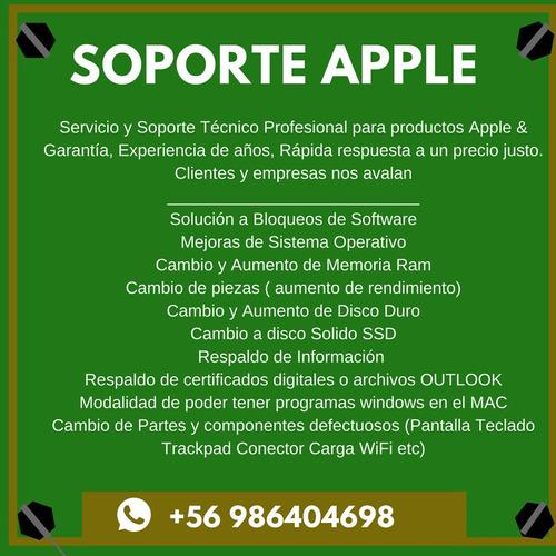 servicio tecnico apple macbook imac notebook & ipad