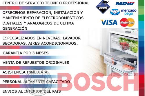 servicio técnico autorizado bosch nevera lavadora secadora