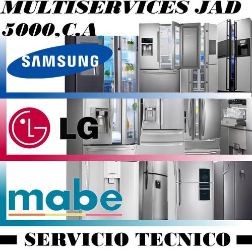 servicio técnico autorizado de nevera samsung lg mabe