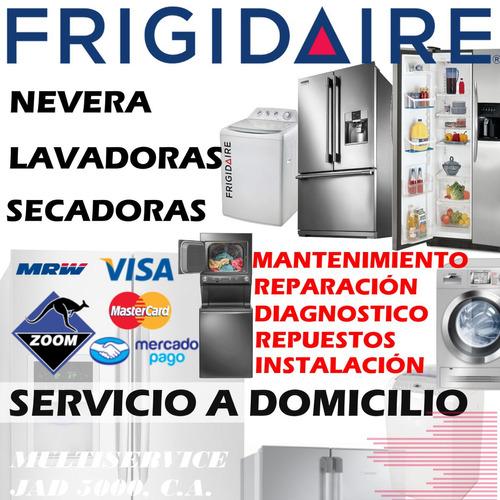 servicio tecnico autorizado frigidaire nevera, repuestos ori