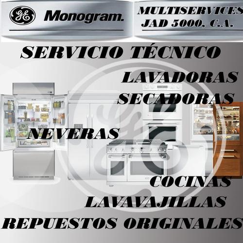 servicio técnico autorizado general  electric monogram