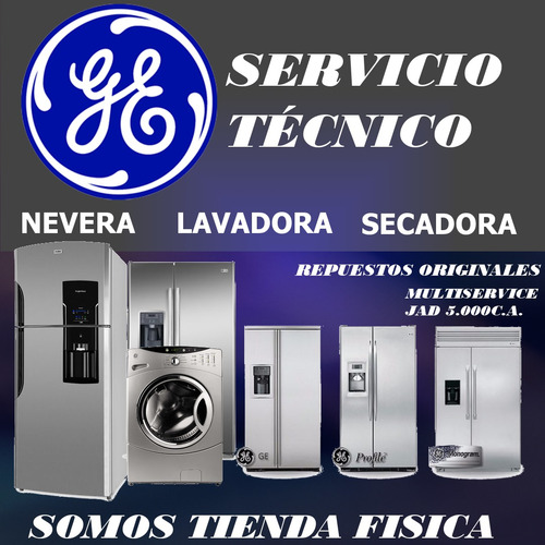 servicio técnico autorizado general electric nevera lavador