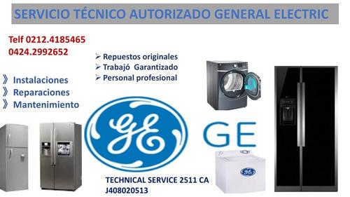 servicio técnico autorizado general electric neveras