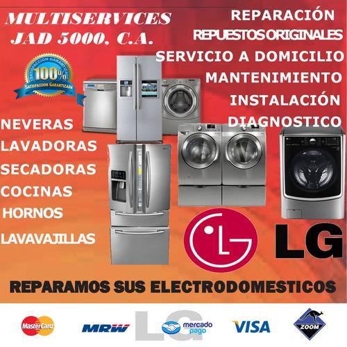 servicio técnico autorizado lavadoras neveras secadoras  lg