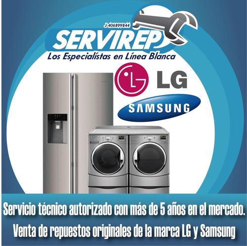servicio tecnico autorizado lavadoras secadoras samsung y lg