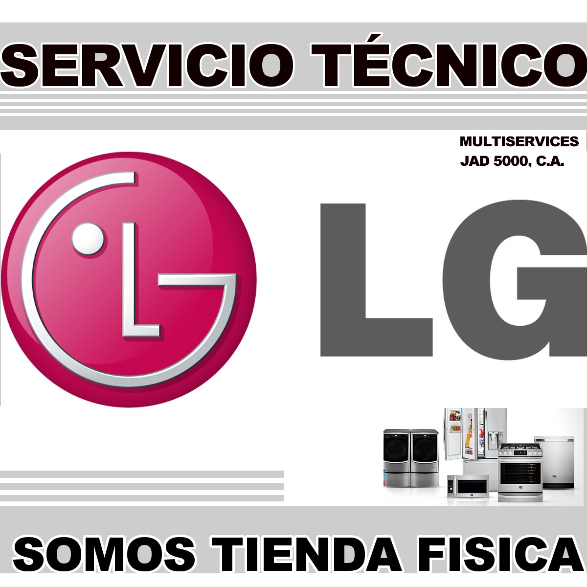 Servicio t cnico autorizado lg nevera lavadora repuestos for Servicio tecnico grohe