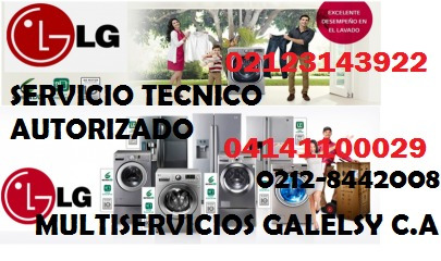 servicio tecnico autorizado lg neveras lavadoras