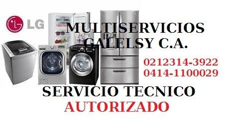 servicio tecnico autorizado lg neveras  lavadoras lg