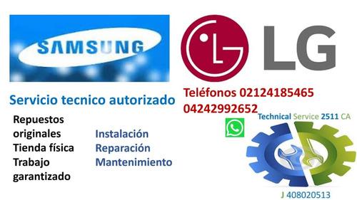 servicio técnico autorizado lg neveras lavadoras samsung