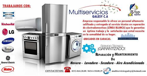 servicio tecnico autorizado lg neveras y lavadoras lg