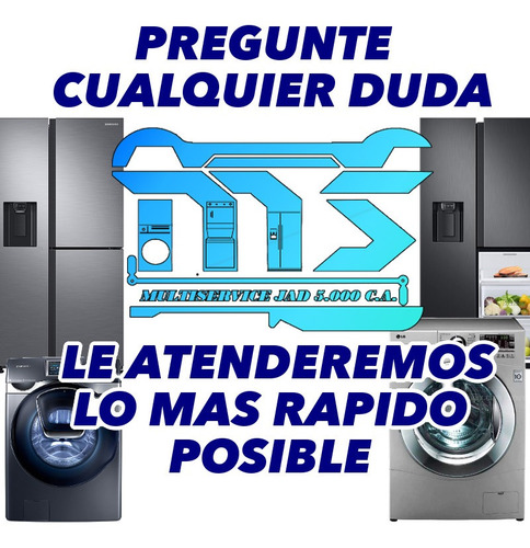 servicio técnico autorizado lg samsung  en nevera y lavadora
