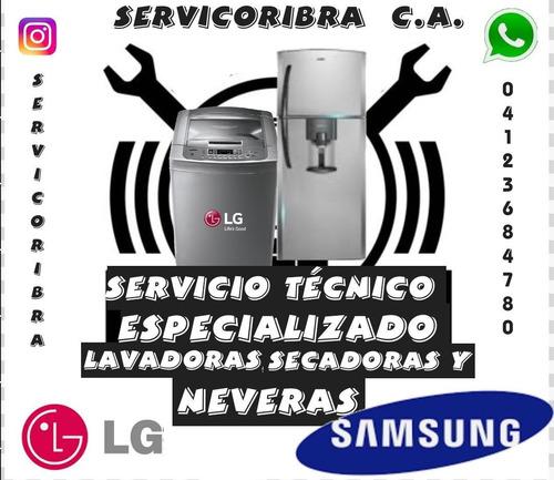 servicio técnico autorizado lg samsung lavadora nevera secad