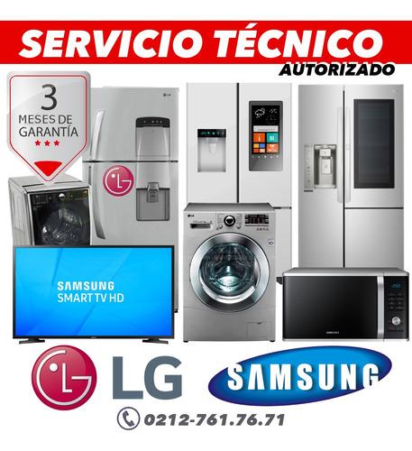 servicio tecnico autorizado lg samsung nevera lavadora secad