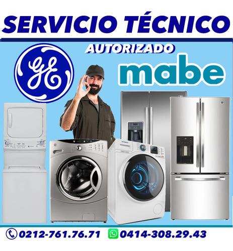 servicio técnico autorizado mabe general electric nevera lav