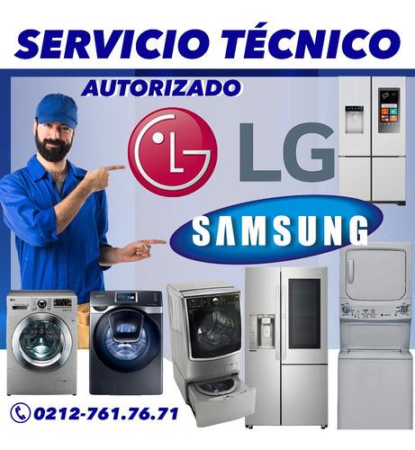 servicio técnico autorizado samsung lg en nevera y lavadora