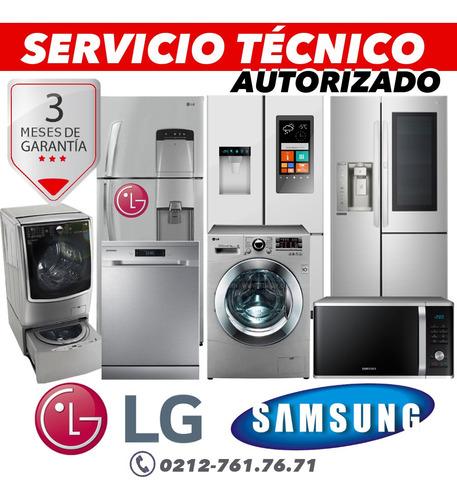 servicio tecnico autorizado samsung lg lavadora nevera secad