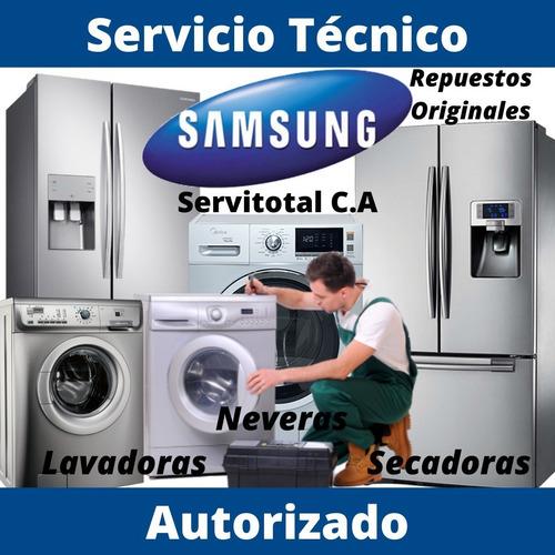 servicio técnico autorizado samsung secadora lavadora nevera