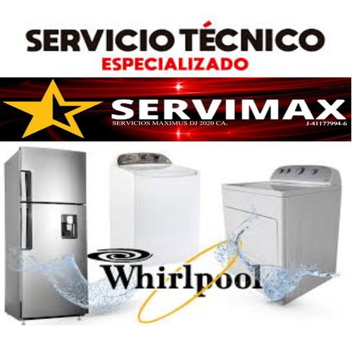 servicio técnico autorizado whirlpool frigidaire caracas