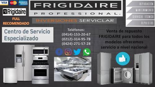 servicio tecnico autorizados frigidaire c.a