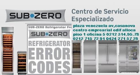 servicio tecnico autorizados sub*zero linea blanca