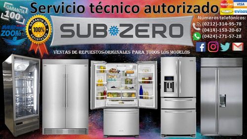 servício técnico autorizados sub*zero reparacion nevera