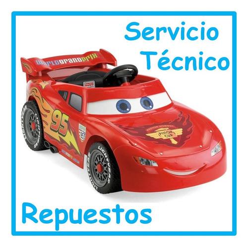 servicio técnico autos a batería niños