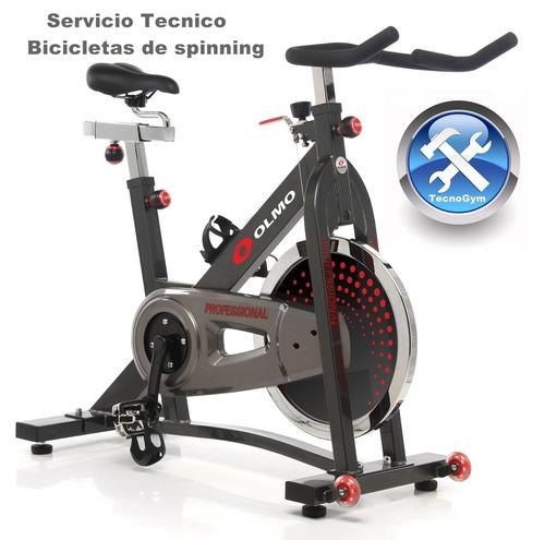 servicio tecnico bicicletas fijas elipticos y multigym
