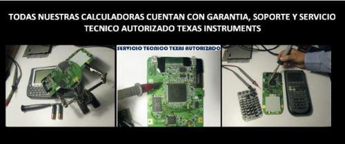 servicio tecnico calculadoras texas instruments