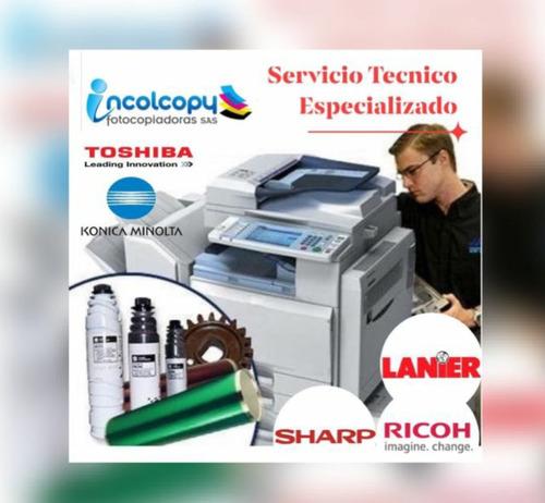 servicio técnico calificado para todo tipo de fotocopiadoras