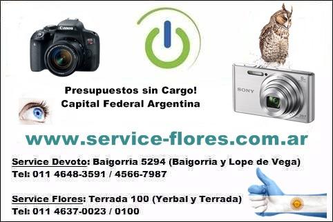 servicio técnico cámaras digitales
