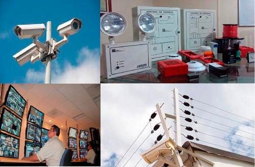 servicio tecnico cctv ,alarmas,cerco electrico, incendios