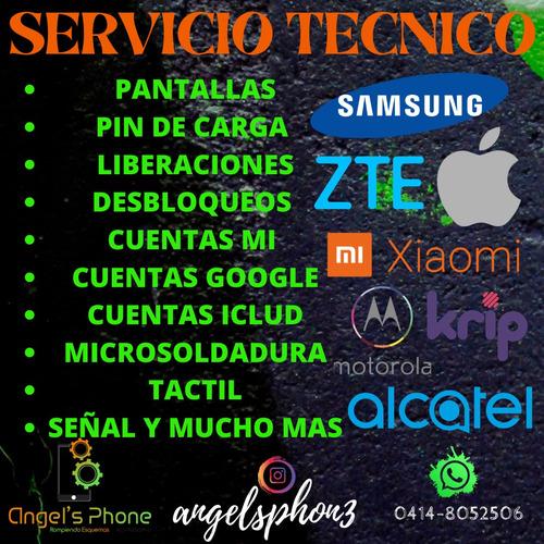servicio tecnico celular liberacion desbloqueo xioami