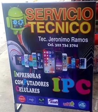 servicio tecnico celulares impresoras y computadores