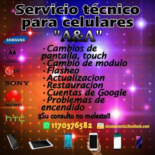 servicio técnico celulares y tablet