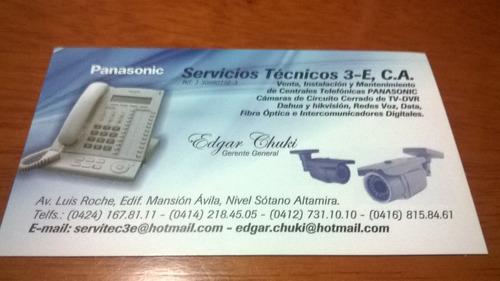 servicio tecnico central telefonica panasonic-ventas