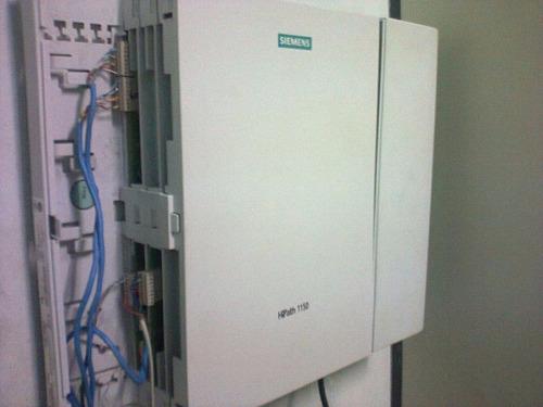 servicio técnico centrales telefonicas siemens