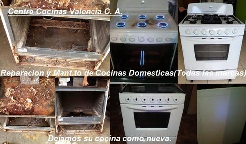 servicio técnico cocinas domésticas e industriales.