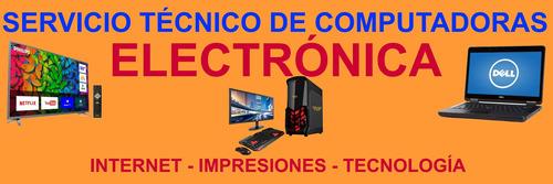 servicio tecnico computacion y electronica