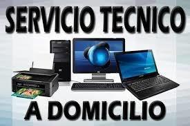 servicio técnico computadora pc laptop a domicilio