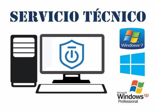 servicio técnico computadora pc, laptos, router, redes.