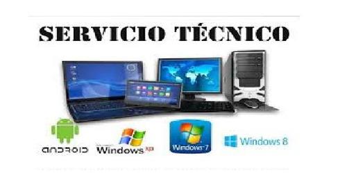 servicio técnico computadoras, laptos, a domicilio o en ofic